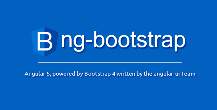 "Using ""ng-bootstrap"" Components in Angular 5 App"