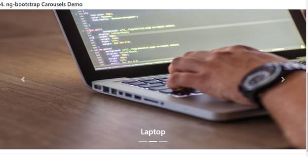 """Using """"ng-bootstrap"""" Carousels"""