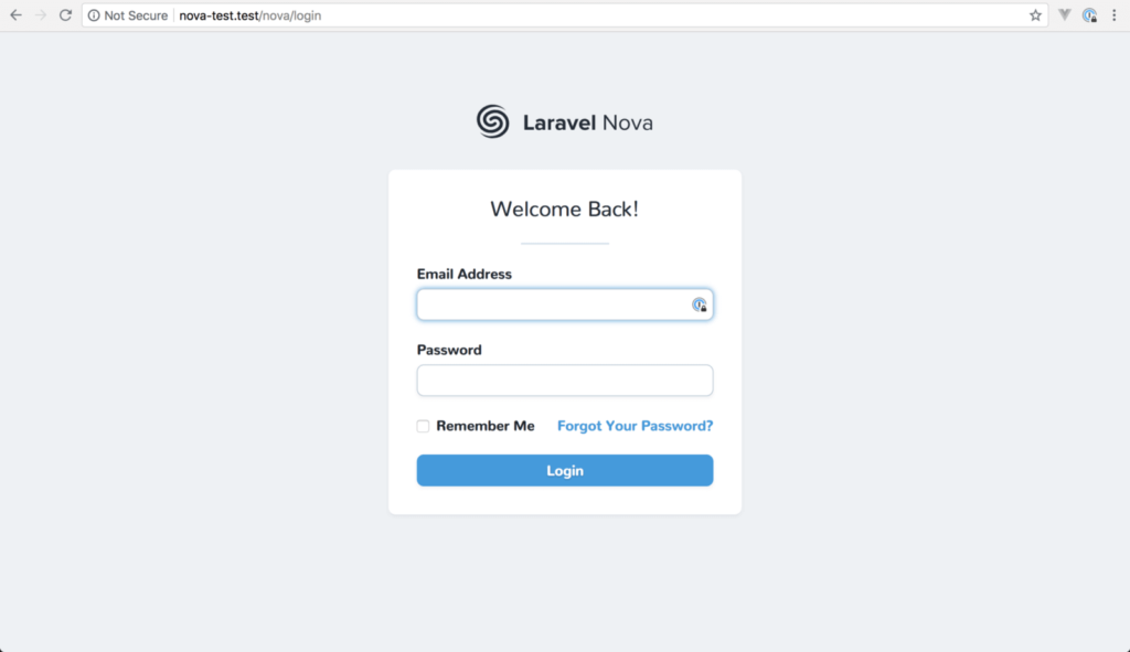 laravel_nova_login _login