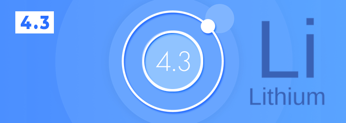 Ionic 4.3 Lithium Out Now!